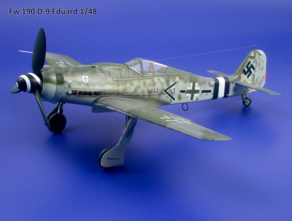 Fw 190 D-9 Eduard 1/48