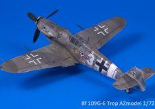 Bf 109G-6 Trop AZmodel 1/72