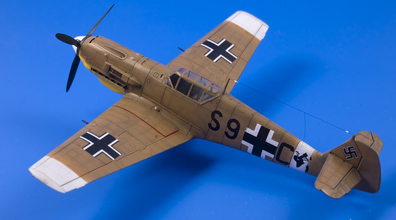 Bf 109E-7 trop. III./ZG1