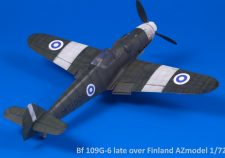 BF 109G-6 late over Finland AZmodel 1/72