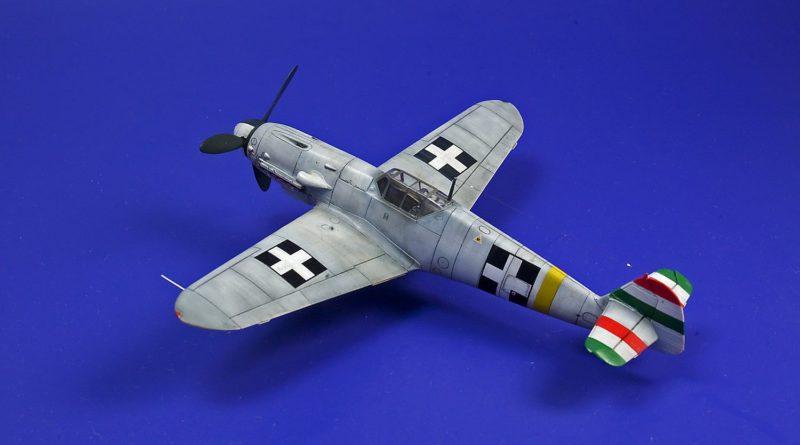 Bf 109G-1 pilot Hadnagy Kalmám Szeverényi. Spring 1943