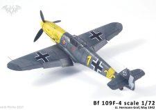 Bf-109F-4 1/72 AZmodel