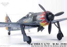 Fw 190A-5 Eduard 1/72 - W.Nr. 2594, Maj. Hermann Graf
