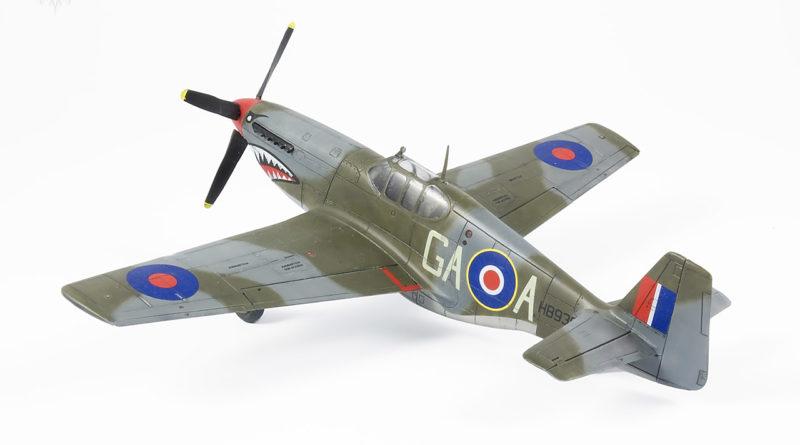 P-51B Mustang Mk. II 1/72 AZmodel